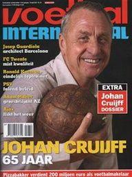 Voetbal International no. 16/2012 Johan Cruijff 65 jaar