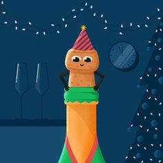 Trending GIF funny cute party christmas hello celebrate hi drink jump pop 2019 fly new year happy new year champagne bubbles bang nye cork sambmotion Happy New Year Animation, Happy New Year Gif, Happy New Year Wallpaper, Happy New Year Message, Happy New Years Eve, Happy New Year Images, Merry Christmas Gif, Merry Christmas Pictures, Christmas Greetings