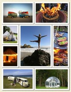 #Glamping love... We intend to become your ultimate free guide and source of inspiration for smoothing the edges of roughing it right here...