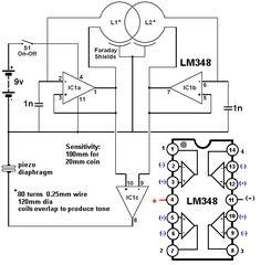 Metal Detector Circuit Diagram Free Download Image Search Results ...