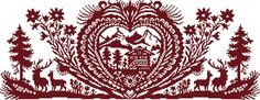 Broderie Passion - A la Montagne - Fiche Papier - Broderie Passion Hand Sewing Projects, Cross Stitch Samplers, Sewing Art, Kirigami, Crafty Craft, Cross Stitch Designs, Blackwork, Monochrome, Rooster