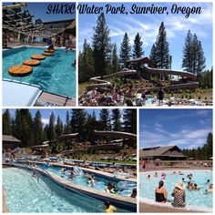 SHARC water park, located in Sunriver, Oregon - perfect place to have fun with your kids on a family vacation!