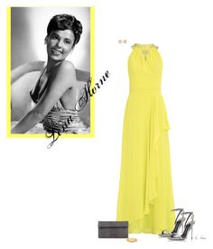 """""""Ms. Lena Horne"""" by ksims-1 ❤ liked on Polyvore featuring Badgley Mischka, Tom Ford, Nancy Gonzalez, Kate Spade and Hoorsenbuhs"""
