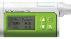Kleinste und leichteste Insulinpumpe auf dem Markt, inklusive dazugehörige Fernbedienung
