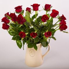 1 DozenRed Roses in a Bee Vase $89.00 (Variety of Sizes available) Visit our website for more details https://heavenlysent.co.nz/products/flowers/roses-in-bee-vase/