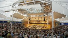 Final Sunday concert of the 2012 Aspen Music Festival season at the Benedict Music Tent in Aspen, CO.