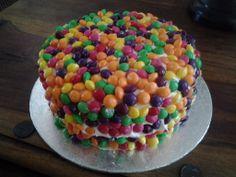 One for the kids, Skittles cake
