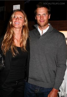 Are there two famous people who've had more of a fashion influence on each other than Gisele Bündchen and Tom Brady? See how they've transformed over the years, from the jock and the party girl to International Best-Dressed List honorees. Gisele Bündchen, Tom Brady And Gisele, Famous Couples, Hot Couples, Celebrity Couples, Power Couples, Celebrity News, Tom Brady Photos, Gisele Bundchen Tom Brady