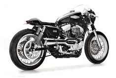 Harley-Davidson Sportster Cafe Racer by Greg (Hageman Motorcycles) #motorcycles #caferacer #motos | caferacerpasion.com