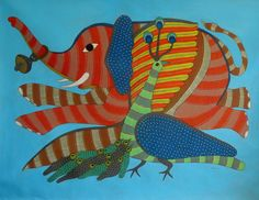 Gond and Bhil Tribal Art: About Gond Art