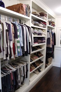 Home Closet Door Closet Room Outlet store Shelf Clothes hanger Furniture Bedroom Closet Design, Master Bedroom Closet, Closet Designs, Closet Drawers, Closet Storage, Closet Doors, Diy Closet Shelves, Shoe Shelves, Closet Renovation