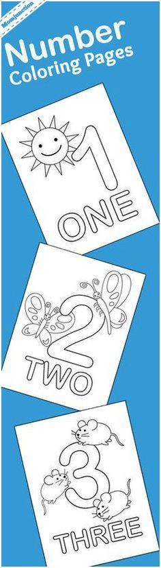 73 best Free number printables for preschool-K images on Pinterest ...