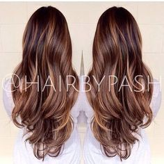 Trendy hair color ideas for brunettes bayalage shops ideas Bayalage, Balayage Hair, Balayage Color, Balayage Brunette, Haircolor, Hair Color And Cut, Brunette Hair, Great Hair, Hair Highlights