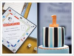 Monopoly Themed 1st Birthday Party | My Sweet and Saucy