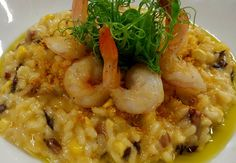 Our menu now changes almost every week cos our kitchen are just to dam creative. Check out our sweet corn risotto with chorizo, radicchio, prawns and basil oil. Mmmm summer flavours. Fratelli restaurant, wellington. http://www.fratelli.net.nz/menu/
