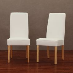 aprilia eggplant upholstered dining chairs. modern white leather dining chair (set of 2) | overstock.com aprilia eggplant upholstered chairs