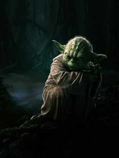 """""""A Jedi uses the Force for knowledge and defense, never for attack.""""  (The Empire Strikes Back)"""