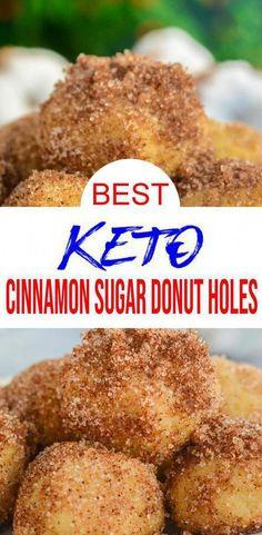 Donut Hole Recipe, Easy Donut Recipe, Donut Recipes, Keto Recipes, Pastry Recipes, Free Recipes, Shake Recipes, Low Carb Donut, Keto Donuts