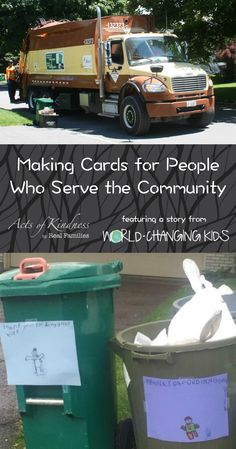 Kindness Cards for Community Helpers Easy act of kindness for kids - read about how to make kindness cards for people who serve the communityEasy Easy may refer to: Service Projects For Kids, Community Service Projects, Community Helpers, Service Ideas, Community Project Ideas, School Projects, Kindness Projects, Kindness Activities, Activities For Kids
