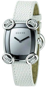 Gucci YA117506 Horsebit Women's White Leather Diamond Dress Watch. Get the lowest price on Gucci YA117506 Horsebit Women's White Leather Diamond Dress Watch and other fabulous designer clothing and accessories! Shop Tradesy now