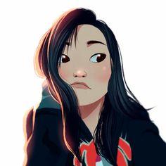 Girls Girls Girls ♥ on Behance Cartoon Girl Drawing, Girl Cartoon, Cartoon Drawings, Cute Drawings, Disney Fan Art, Disney Art Style, Illustration Design Graphique, Illustration Art, Cartoon Art Styles