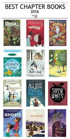 Check out these best chapter books 2016 for kids and give as gifts! From @melissa_taylor2 #KidLit #ReadYourWorld
