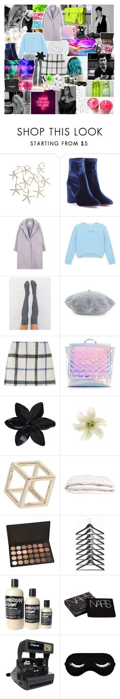 """✿ from girl to girl up in this place just treating love like it's a race, he thinks he'll finish first but babe expect the worst"" by styleboy ❤ liked on Polyvore featuring Chanel, GALA, Aquazzura, Chicnova Fashion, Helene Berman, ASOS, Clips, Topshop, NARS Cosmetics and Impossible Project"