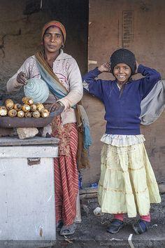 Meet the charming Brehambatti and her daughter Radhika, Mussoorie, India