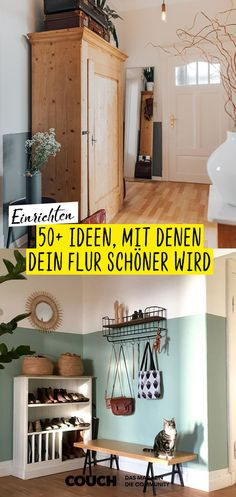 Flur Ideen: Lass dich in der Community inspirieren! New furnishing ideas for the corridor have to come from? No problem! We show you, ie your entrance area is as beautiful as in the_gruenke (above) or MiMaMeise! Console Table, Couch Magazin, Dream House Exterior, Luxury Apartments, House Rooms, Room Inspiration, Storage Spaces, Entrance, House Plans