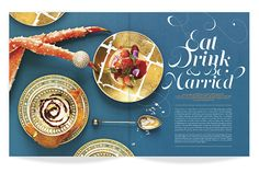 ★ DESIGN ARMY – Washingtonian Bride & Groom: Eat, Drink, and Be Married (Editorial Design and Art Direction) © Design Army LLC