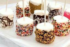Great snack idea for parties #mashmallows <3