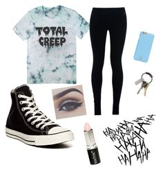 """""""total creep"""" by arbaugh-madison on Polyvore featuring NIKE, Converse, Tory Burch, CB2 and Boohoo"""