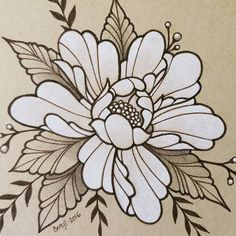 Flower Tattoo Designs, Flower Tattoos, Tattoo Apprenticeship, Traditional Tattoo Flowers, Flower Wall Wedding, Painting Tattoo, Japanese Flowers, Floral Illustrations, Tattoo Sketches