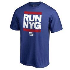Men's Pro Line Royal New York Giants RUN-CTY T-Shirt