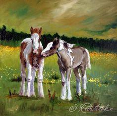 Gypsy Vanner Horse original painting