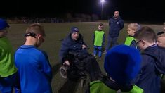 Unsung Hero: Football coach Gary Brown overcomes personal challenges to win North East award - BBC Sport