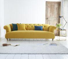 Happy Yellow Living Room Ideas