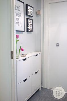 H495 harso Small Deco Love: Eteinen // Hallway #hallwayideassmall
