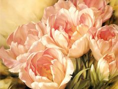 angelique tulips II by igor levashov.  almost photographic, completely lovely.