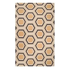 $500 Odeon Dhurrie Rug - Chocolate/Citrus | Area-rugs | Panels-and-rugs | Z Gallerie