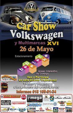Car Show Volkswagen y Multimarcas XVI Sunday, May 26, 2013 Museo Interactivo de Durango, Mexico