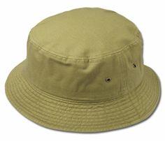 2e470049c3b Soft Cotton Bucket Hat (Khaki)