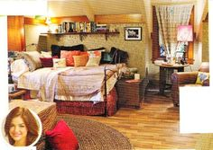 aria montgomery's bedroom pretty little liars - Google Search