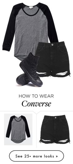 """Untitled #527"" by bands-are-my-savior on Polyvore featuring Wilfred, Topshop and Converse"