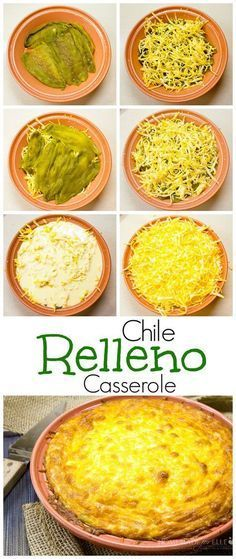 53 Ideas for breakfast casserole vegetarian chile relleno Mexican Dishes, Mexican Food Recipes, Real Food Recipes, New Recipes, Vegetarian Recipes, Cooking Recipes, Favorite Recipes, Ethnic Recipes, Recipies