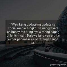 Tagalog Qoutes, Tagalog Quotes Hugot Funny, Pinoy Quotes, Hugot Lines, Pick Up Lines, Common Sense, More Fun, Haha, Jokes