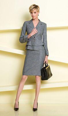 Spring Look - Corporate Attire, Business Casual Attire, Business Outfits, Business Fashion, Classy Work Outfits, Office Outfits, Office Wardrobe, Capsule Wardrobe, Cozy Fashion