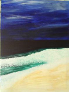 Acrylic gulf of mexico