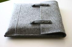 MacBook Pro Sleeve 15 Inch Felt Case / Sleeve (DIY inspiration)