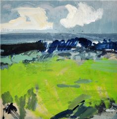 Spring Green Field | Lucie Bray